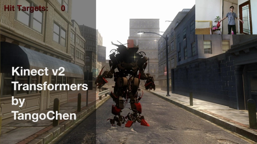 Kinect v2 Transformers[10-00-30]